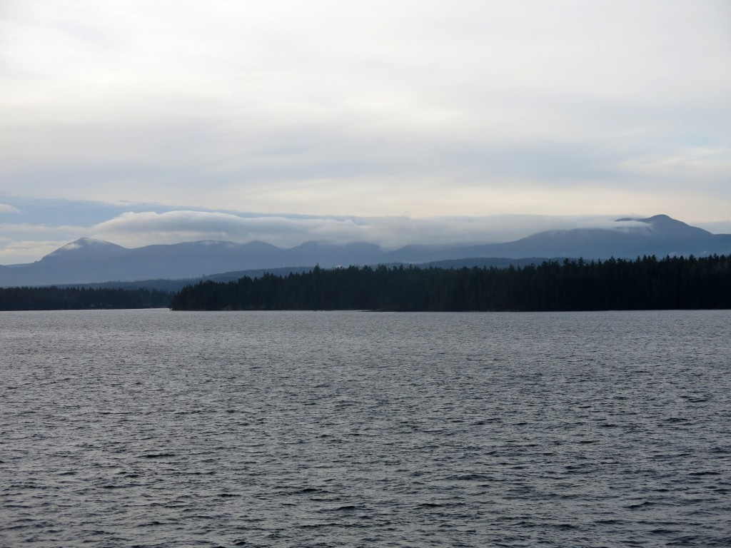 clouds on Vancouver Island