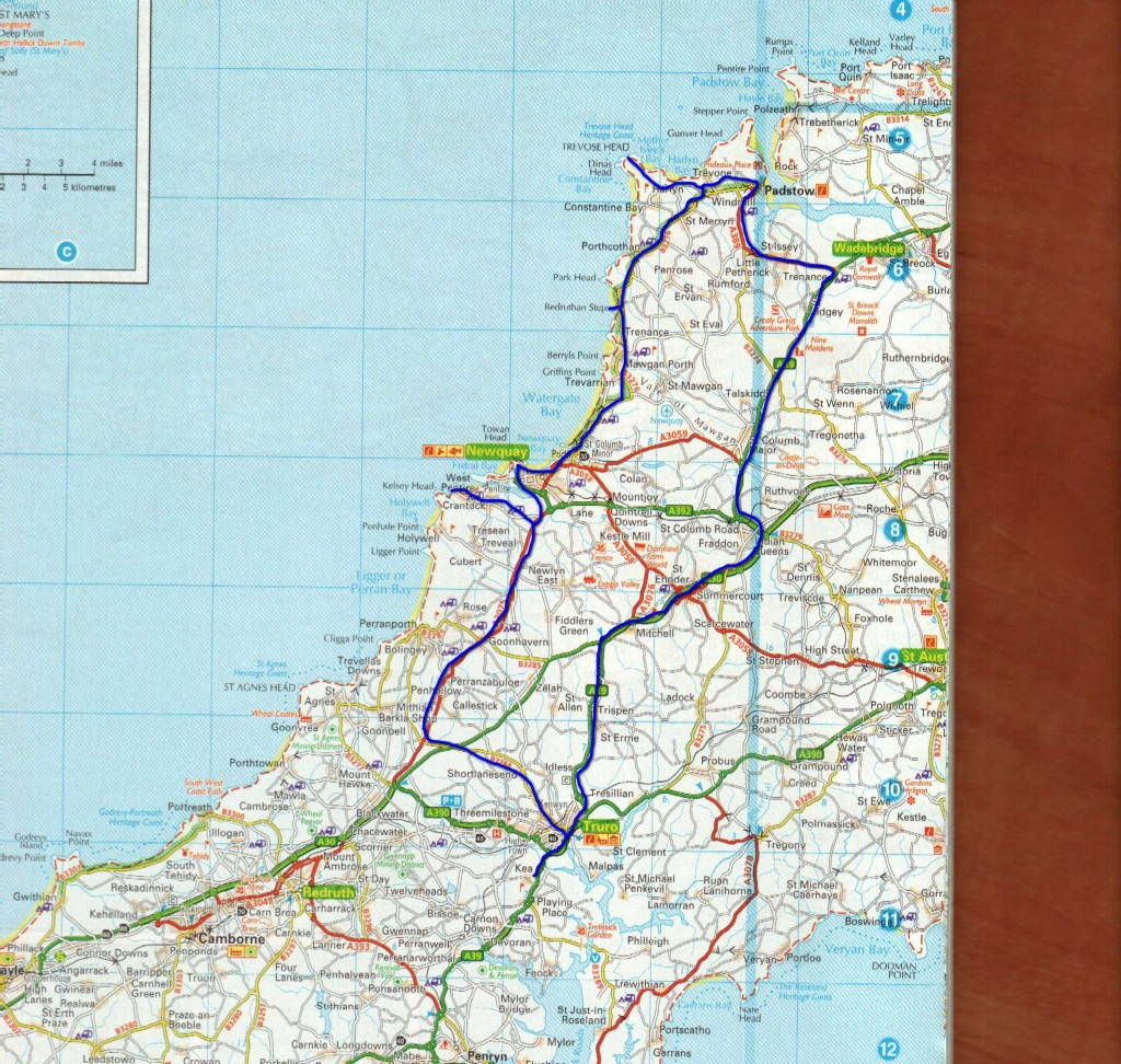 Day trip map