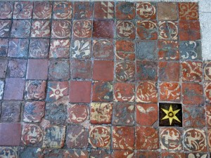 Oldest tiles in Engand