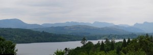 Mountain pano from Bowness